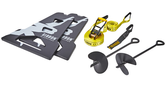 GIBBON Independence Kit 70 - Slackline kit - negro